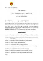 COMPTE-RENDU – Séance du 04.06.2021
