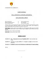 COMPTE-RENDU – Séance du 08.07.2021